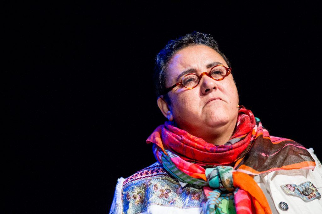 Naima Zitan from Theatre Aquarium.